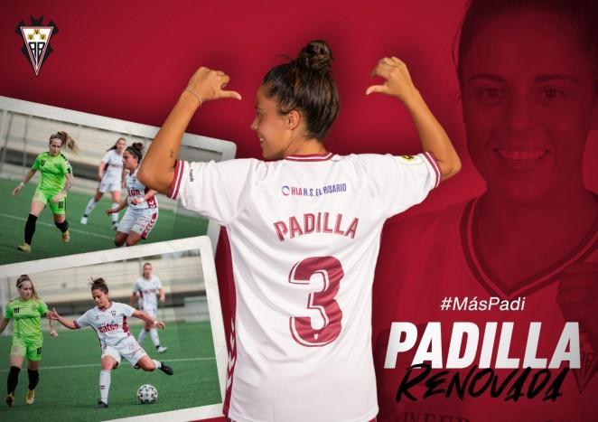 Funda: Patricia Padilla renueva una temporada más