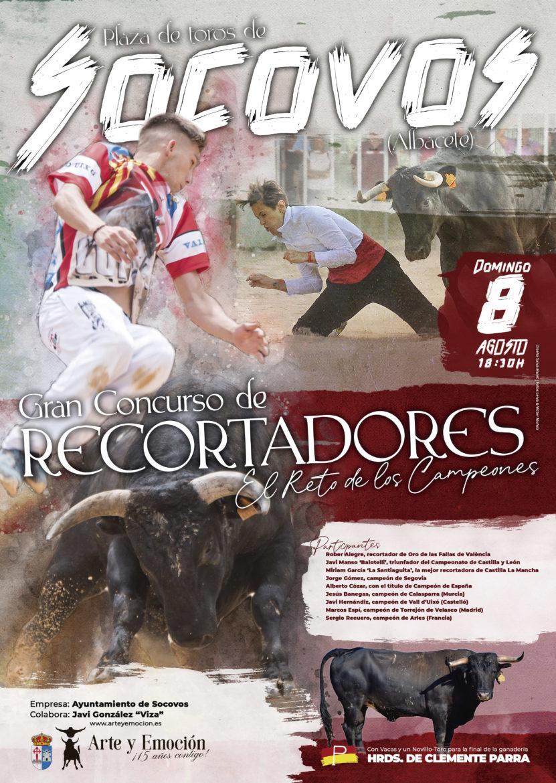 Socovos celebrará el primer y único concurso de recortadores de la provincia de Albacete
