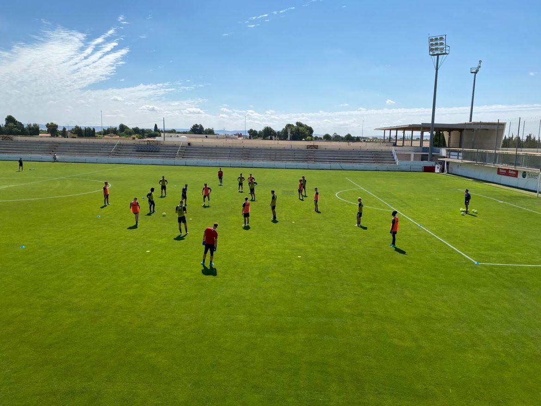 El Albacete Balompié completa su primer día de pretemporada
