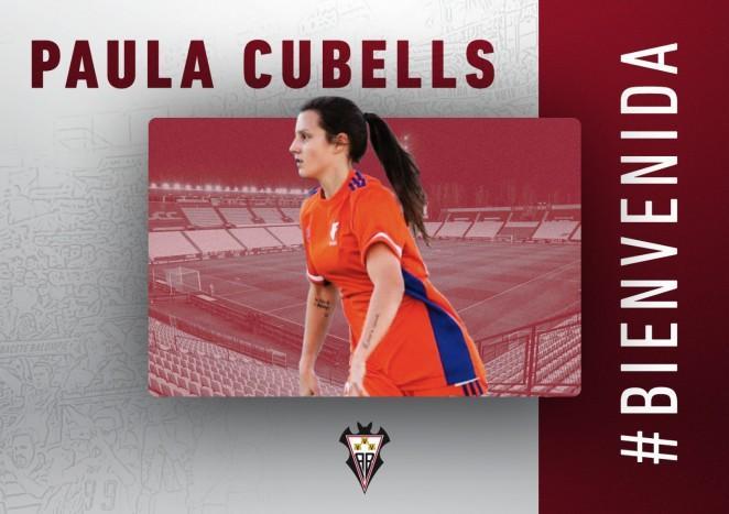 Paula Cubells, refuerzo en defensa para el Funda