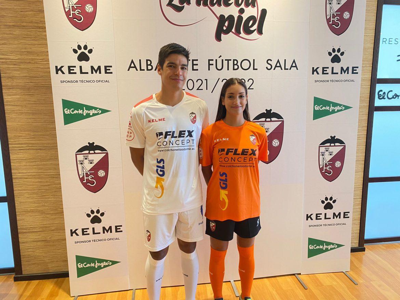 El Albacete FS presenta sus nuevas equipaciones