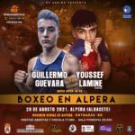Guillermo Guevara se enfrentará a Youssef Lamine el Khalid en la velada de Alpera