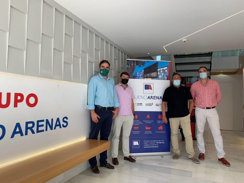 Albacete Basket y Bueno Arenas unen fuerzas