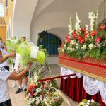 El Alba realiza su tradicional ofrenda a la Virgen de los Llanos