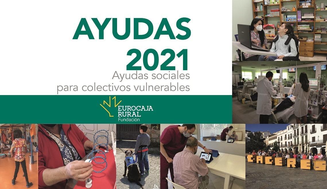 Fundación Eurocaja Rural elige los 7 proyectos de carácter social que recibirán una ayuda de 2.000 euros