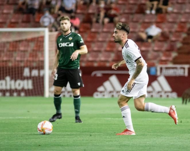 """Fran Álvarez: """"El domingo tenemos que ir a por los tres puntos"""""""