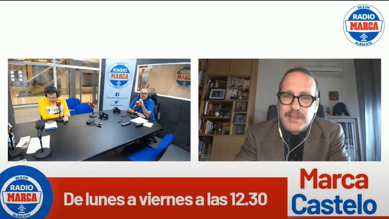 """Joaquín Reyes :"""" El Alba tiene que volver el próximo año a segunda""""."""